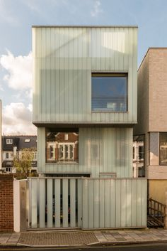 The former live/work space of architect Carl Turner in Brixton hits the market Ice Cube House, Rural Retreats, Brixton, Beautiful Interiors, To Go, Exterior, London, Case Study, Outdoor Decor