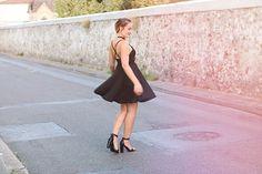 Mon combo de lété : la maxi tresse & la petite robe noire