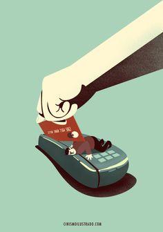 """""""Meu cartão de crédito é uma navalha..."""""""