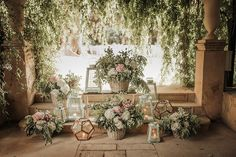 rincon boda, corner decoration for wedding, flowers | Photo by Oscar Guillén