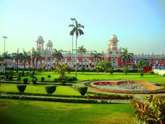 Charbagh Railway Station Lucknow, UP, India