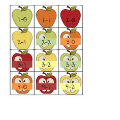Apple-of-My-Eye-Subtraction-164542 Teaching Resources - TeachersPayTeachers.com