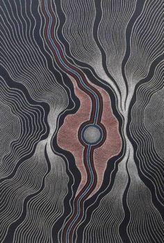 Anna Petyarre ~ Yam Seed Dreaming
