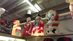 Christmas Blowmolds