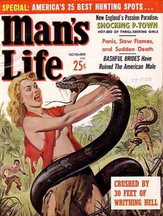 Snakes hate it when you don't button your Red Shirt of SIN!
