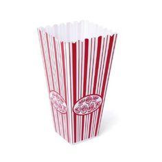 Popcorntüte aus Kunststoff ♥ @rosa-rot.eu