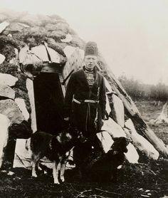 Sami man Sweden early 1900