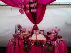 """Pink/Cheetah / Baby Shower """"Cheetah Baby Shower"""" 