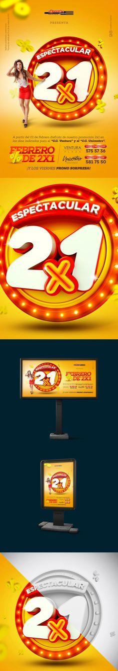 Febrero de 2x1   Londeros Express on Behance