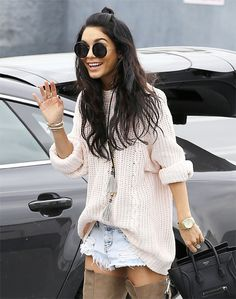 2/27/15 - Vanessa Hudgens going to a meeting in LA.