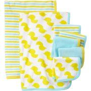 Child Of Mine Made By Carter's Newborn Baby Washcloth And Towel Set, 7 Pack, Yellow Baby Towel, Towel Set, Yellow Baths, Baby Washcloth, Gifts For New Parents, Baby Boy Newborn, Baby Essentials, Washing Clothes, Child