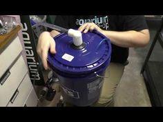 Easy DIY Aquarium Bucket Fish Tank Filter - YouTube