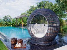 Get cozy in an outdoor nap nest.