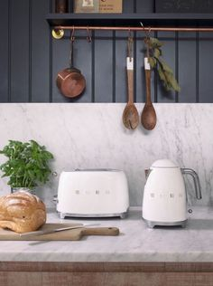 You can now buy Smeg's kettle and toaster in white