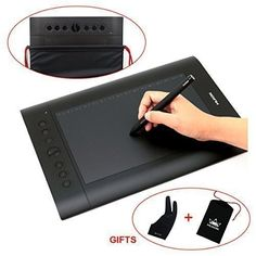 Huion H610 Pro Graphic Drawing Tablet with Carrying Bag and Glove Huion http://www.amazon.com/dp/B00ZWRSQ4I/ref=cm_sw_r_pi_dp_dNbJwb0HCXDZ8