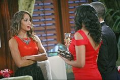 Hilary (Mishael Morgan) and Lily (Christel Khalil) were once stepmother and stepdaughter and are now sisters-in-law on Young And The Restless. Their characters don't get along on the soap opera. The two actresses recently had an interview with Soap Opera Digest discussing their relationship off