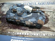Volks Edelweiss tank In black and red, this would make a great AT70