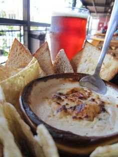 A recipe for the beer cheese dip that Founders sells in their taproom!