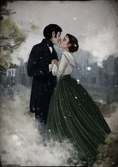 john thornton and margaret hale | ... art drawings books novels 2013 loleia john thornton and margaret