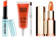 Orange lip tips