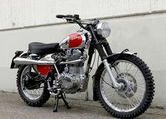 McDeeb Six Days Royal Enfield Special