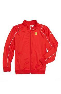 PUMA 'Ferrari' Track Jacket (Big Boys) | Nordstrom Teen Boys, Big Boys, Back To School For Teens, Teen Boy Fashion, School Ideas, Ferrari, Adidas Jacket, Track, Trousers