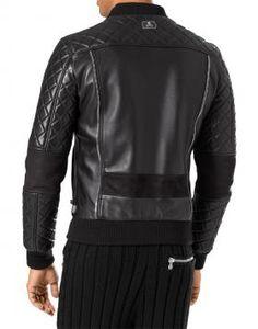 Philipp Plein Leather Jackets for Men, Biker Jackets | Philipp Plein