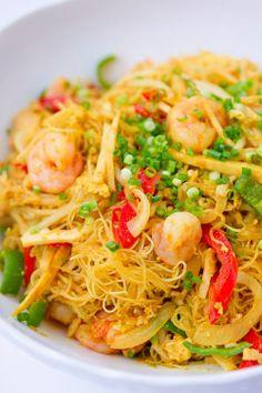 Singapore Noodles Recipe.