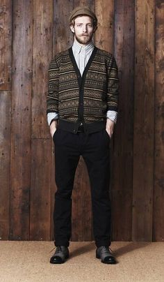 One of our fav cardigans by Ben Sherman from their Plectrum Collection Autumn/Winter 2011
