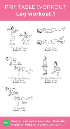 leg workout one