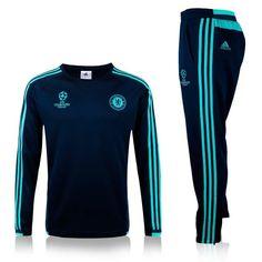Chelsea 2015/16 Champions League Navy Men Tracksuit Slim Fit