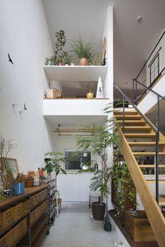 5年経っても進化中。年数と共に変化していく家。 – D'S STYLE(ディーズスタイル) Loft Design, Home Room Design, Tiny House Design, Living Room Designs, Cool Rooms, Great Rooms, Muji Home, Future House, Interior Architecture