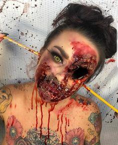 Halloween makeup buscar con google disfraces pinterest halloween town scary halloween halloween 2017 halloween stuff halloween costumes halloween ideas horror costume scary makeup sfx makeup solutioingenieria Image collections