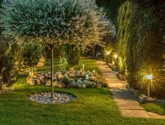 10 Ways To Illuminate Your Yard With Landscape Lighting Outdoors It is important that you understand the benefits of choosing to use the best yard lighting. The number one reason is that it will improve the look of ... Landscape Lighting Design, Philips Hue, Mediterranean Style Homes, Starter Set, Types Of Lighting, Yard Design, Lots Of Money, Outdoor Seating, Backyard Landscaping