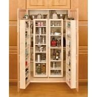 """Rev-A-Shelf 4WP18-51-KIT 4WP Series 51"""" Tall Swing Out Pantry Cabinet Organizer Natural Tall Cabinet Organizers Pull Out Pantry Organizers Swing Out"""