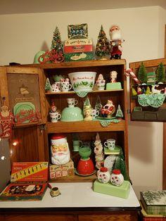 Cottage Christmas, Christmas Villages, Antique Christmas, Christmas Love, Retro Christmas, Country Christmas, All Things Christmas, Christmas Trees, Holiday Fun