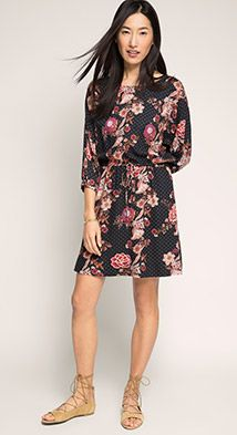 Esprit / Loose batwing dress