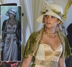 Hanna's halloween costume on Pretty Little Liars 2013.  Outfit Details: https://wornontv.net/20101/ #PLL