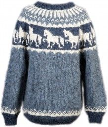 Strickpaket Alafoss Lopi Pferdemotiv Nr. 5503 Knit Or Crochet, Crochet For Kids, Fair Isle Pullover, Icelandic Sweaters, Fair Isle Knitting Patterns, Men Sweater, Clothes For Women, My Style, Casual