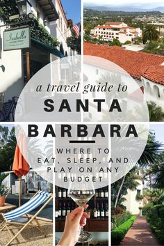 GoAltaCA | We're heading to the American Riviera for the weekend: It's time to pack up for Santa Barbara, California! Use this travel guide to find out where to eat, stay and play on any budget.