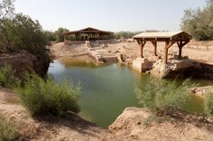 Biblical site: Bethany at River Jordan - just outside Amman, believed to be the place Jesus was baptized by John the Baptist.
