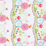 Michael Miller Animal Friends Girl [MM-CX5275-Girl] - $10.45 : Pink Chalk Fabrics is your online source for modern quilting cottons and sewing patterns., Cloth, Pattern + Tool for Modern Sewists