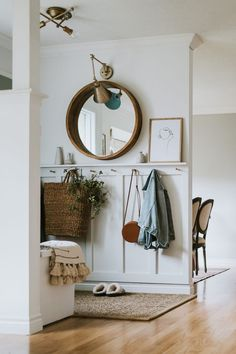 Top Ten Places To Find Discounted Decor. List of Stores that ship across North America. How I shop the deals and wait for items to drop in price Hallway Decorating, Entryway Decor, Foyer, Hall Way Decor, Small Entryway Organization, Enterance Decor, H&m Home, Home Reno, Entry Way Design