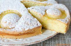 Torta con fette di ananas