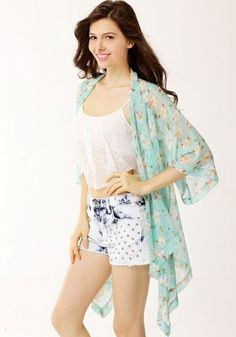 Check+out+these+beautiful+floral+kimono+cardigans!+Perfect+to+wear+over+a+bikini+for+the+beach,+or+any+summer+time+outfit!+Adds+the+perfect+beachy+touch!+ Free+shipping+worldwide+&+No+sales+taxes+on+ALL+orders!+ *PLEASE+NOTE+THAT+IF+YOU+PURCHASE+MORE+THAN+1+ITEM+SOME+ITEMS+WILL+COME+IN+SEPA...
