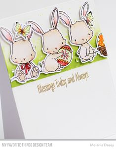 chick egg rubber stamps creative expressions  Easter Bunny A5 Stamp sheet