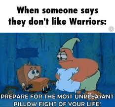 Like warriors or else!