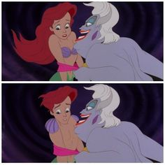 Eric and Male Ariel Ariel Gender bent disney and disney Pixar