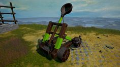 [Dev Blog 2] Rock of Ages II: Bigger & Boulder - Unit review: The Catapult.  Hey Rock of Ages fans! On this occasion we'll be looking at the catapult and inspect what tweaks and changes have been applied to the basic shooter unit. Click here to read the blog: https://steamcommunity.com/games/434460/announcements/detail/577966826618030118 #ACETeam #VideoGames #Gaming #RockOfAges2 #RoA2 #AtlusUSA #GameDev #IndieDev #Indie #PCGame #PS4 #XboxOne #Comedy #TowerDefense #Racing
