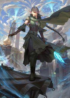 Nissa, Vital Force - MTG by ClintCearley